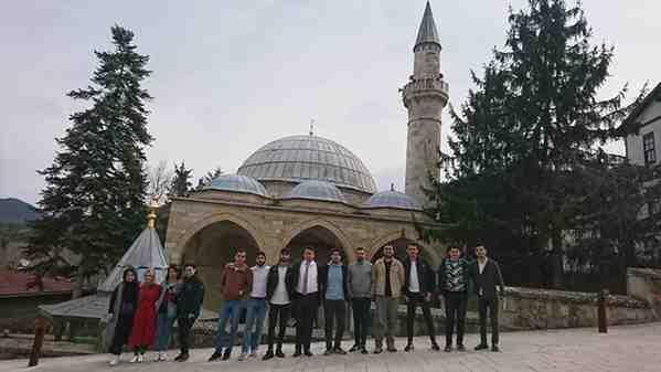 Geyve KYK Öğrencileri Osmanlı Mimarisiyle Buluştu