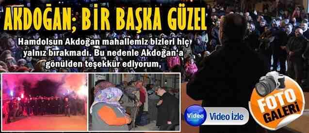 Akdoğan, Cumhur İttifakını Bağrına Bastı