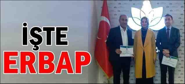 İş'te Erbap Ödülleri Verildi