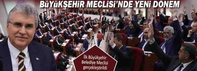 Yeni Dönemin ilk Büyükşehir Meclisi Toplandı