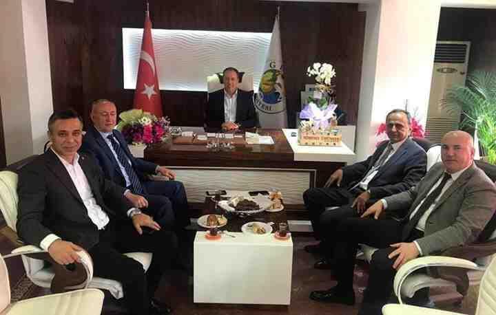 APEK'ten Güney'in Başkanlarına Ziyaret