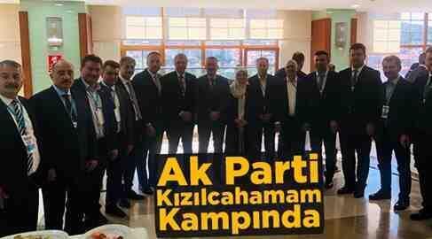 Ak Parti Tam Kadro Kızılcahamam'da