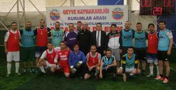 Kaymakamlık Futbol Turnuvası Başladı