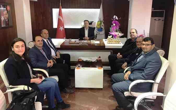 Geyve Memur-Sen'den, Başkan Kaya'ya ziyaret