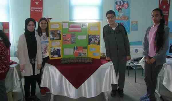 Osmangazi'de TÜBİTAK Fuarı…