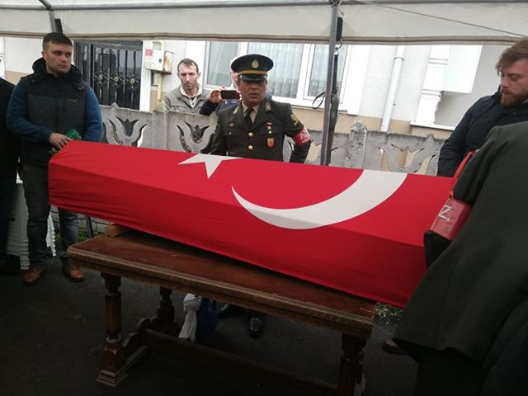 Geyveli Kore Gazisi Mehmet Kahya Vefat Etti