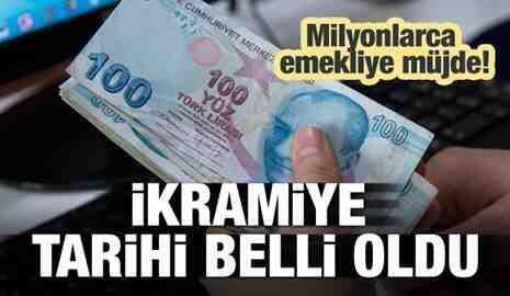 Emeklilere Bayram İkramiyesi 31 Mayıs'ta ödenecek