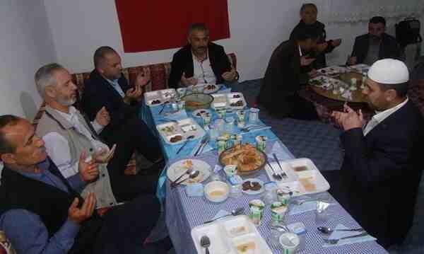 Hacıosmanlar'da Köy Konağında İftar