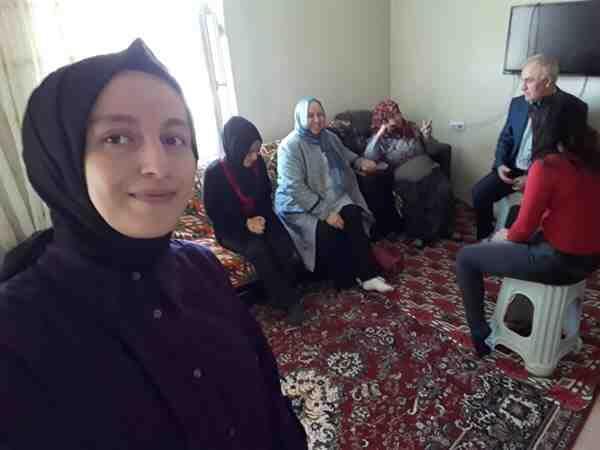 İşte Erbap kapsamında Ailelerle Buluşuyor…