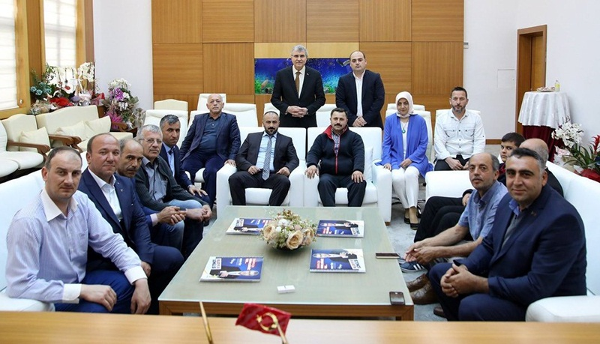 MHP Geyve Teşkilatından Yüce'ye Ziyaret