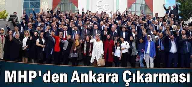 MHP Teşkilatlarından Ankara Çıkarması