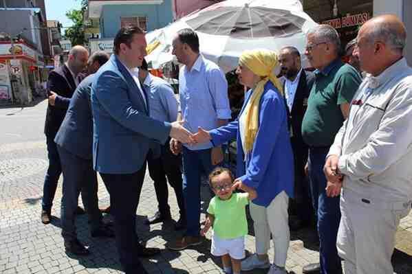 MHP Milletvekili Bülbül'den Geyve Teşkilatına Ziyaret
