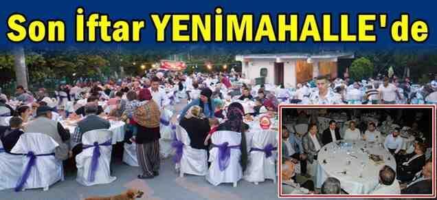 Son İftar Alifuatpaşa YeniMahalle'de