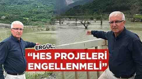 HES Projeleri Engellenmeli