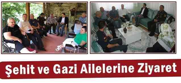 Şehit ve Gazi Ailelerine Ziyaret