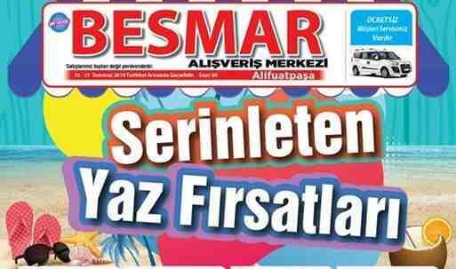 Besmar'da Serinleten Yaz Fırsatları