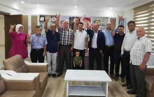 Geyve MHP İlçe Teşkilatından İbrahim Pilavcı'ya Ziyaret