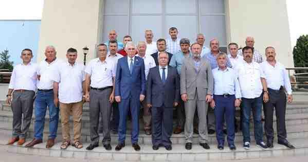 Muhtarlar Federasyonu Yeni Yönetiminden Vali Nayir'e Ziyaret
