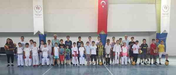 Yaz Spor Kursları Açıldı