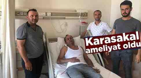 APEK Başkanı Karasakal Ameliyat Oldu