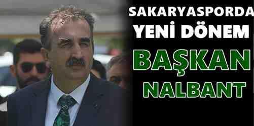 Sakaryaspor'da Başkan Nalbant