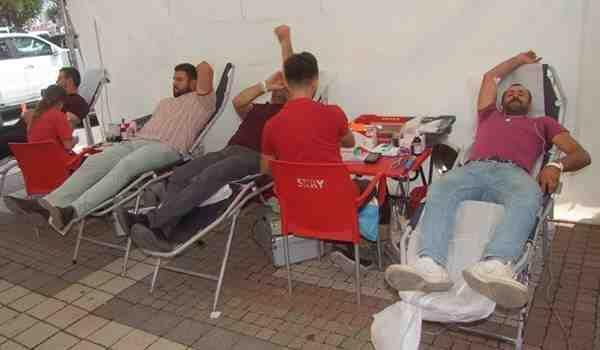 Geyve'de Kan Bağışı.