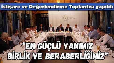 Başkanlar İstişare Toplantısında biraraya geldi
