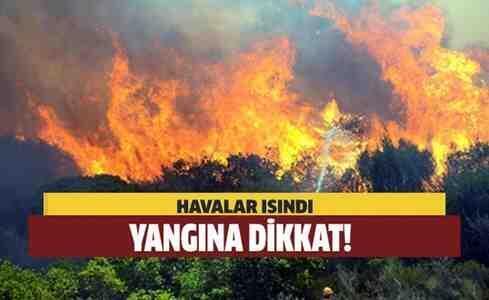 Geyve Ormanlarında Ateş Yakma Yasağı…