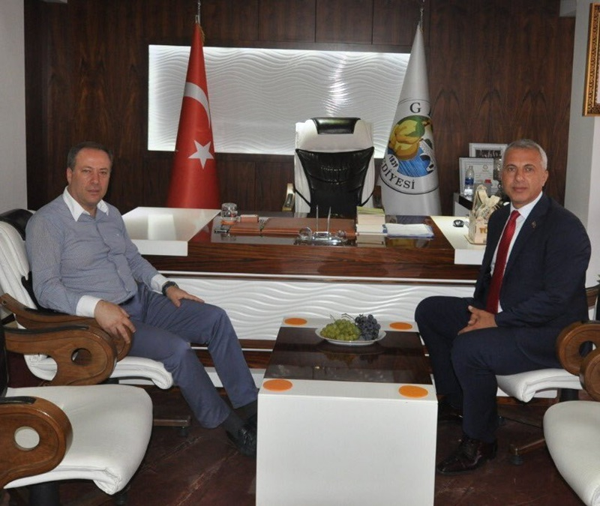 Babaoğlu'ndan Başkan Kaya'ya Ziyaret
