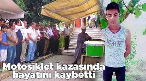 Nur Doğan 14 Yaşında Motosiklet Kazasında hayatını Kaybetti