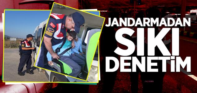 Jandarma'dan Öğrenci Servislerine Sıkı Denetim