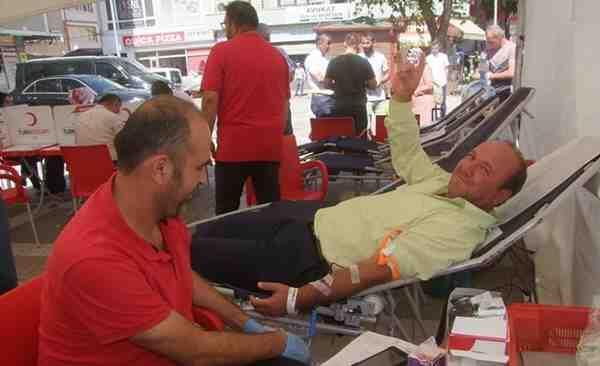 MHP'den Kan Bağışı…