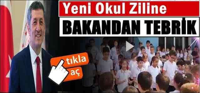 Yeni Okul Zili Videosuna Bakan Selçuk'tan Tebrik