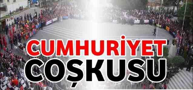 Geyve'de Cumhuriyet Coşkusu