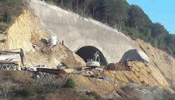 Doğançay Hızlı Tren Tüneli İnşaatında Feci Ölüm..