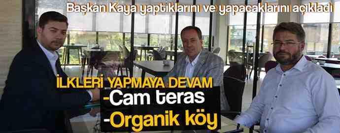 Başkan Kaya; Geyve'yi Seviyorum