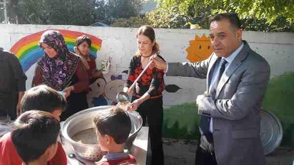 Ahmet Yesevi ilkokulu'nda Aşure Günü Etkinliği düzenlendi.