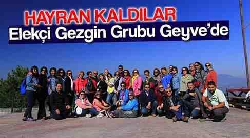 Eskişehir'den Geldiler, Geyve'ye Hayran Kaldılar