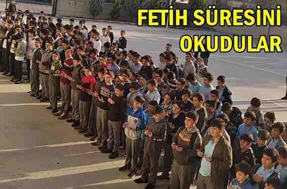 Mehmetçiklerimize Fetih Süresini Okudular..