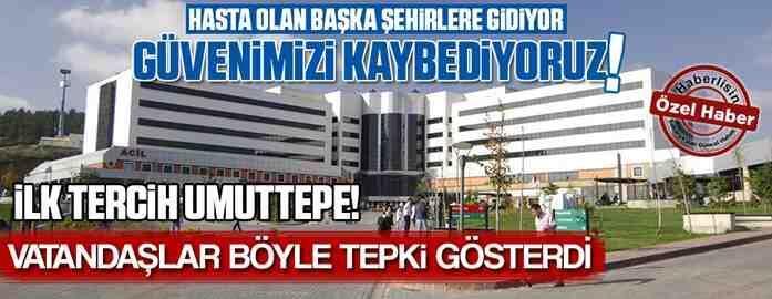 Hastanelerde İlk Tercih İzmit Umuttepe..