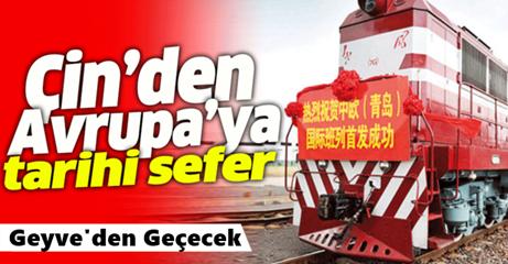 Tarihi Tren Türkiye'ye Giriş Yaptı..Alifuatpaşa'dan Geçecek..