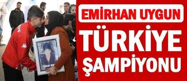 Emirhan Uygun Türkiye Şampiyonu