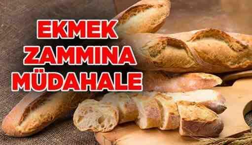 Ekmek ve Simit Fiyat Tarifesine Red Kararı