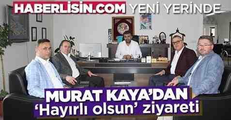 Başkan Kaya'dan Haberlisin.com'a Ziyaret