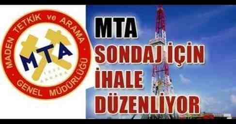 MTA'dan Maden Sondajı İhalesi ..Geyve'de Var..