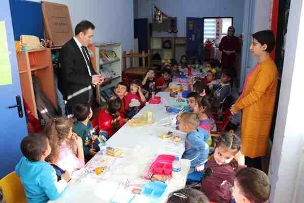 Kaymakam Memiş, Okul Ziyaretlerini Sürdürüyor
