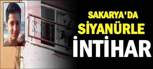 Sakarya'da siyanürle intihar!