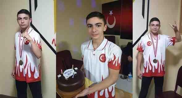 WUSHU'da Bir Balkan Şampiyonu Daha…