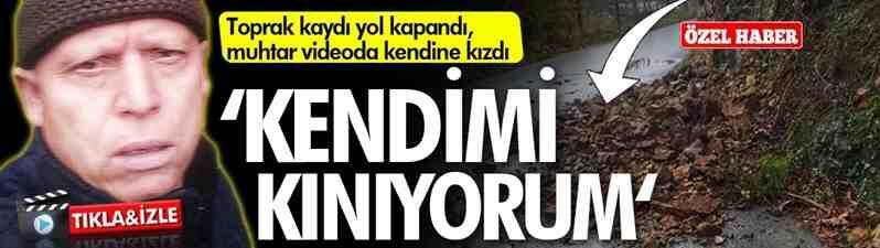 Doğançay Boğazköy Yolu Felaket Getirebilir..