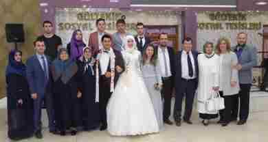 Enes Şengül ile Büşra Uzun Dünya Evine Girdi